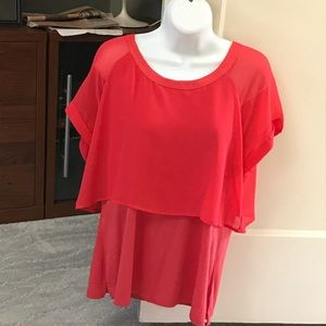 Red blouse size L/g. Very sweet